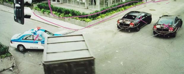 VIDEO: Producatorii Fast Five ne arata cum a fost filmata scena cu furtul seifului