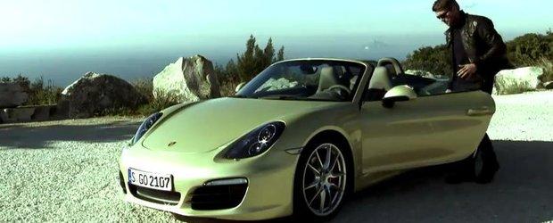 Video promotional pentru noul Porsche Boxster 2012