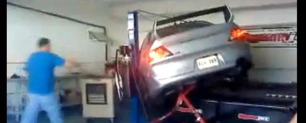 VIDEO! Razbunarea masinii pe dyno!