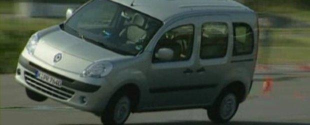 Video: Renault Kangoo pica testul elanului