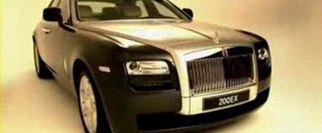 Video: Rolls-Royce 200EX in detaliu