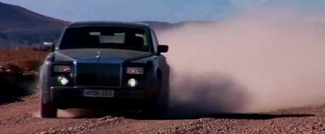 VIDEO: Rolls Royce Phantom, aventura in America de Sud