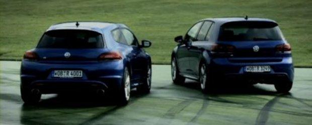 Video:  Rrr... Scirocco R vs Golf R