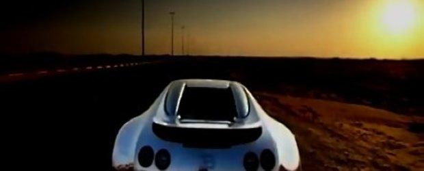 Video: Sabine Schmitz, cu Veyron-ul prin Abu Dhabi
