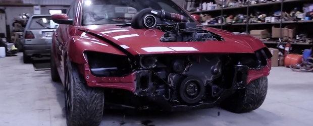 VIDEO: Si-a pus tot internetul in cap dupa ce a dezvaluit ca a inlocuit motorul rotativ cu unul diesel