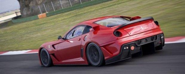 Video: Si mai multa actiune cu Ferrari 599 XX!