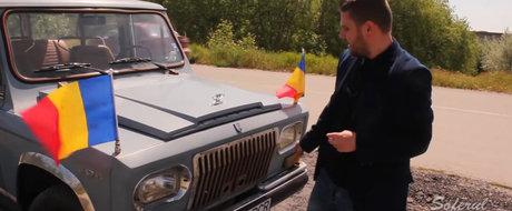VIDEO si test-drive: Secretele limuzinei lui Ceausescu, ARO 304, masina care se vinde acum cu 50.000 de Euro