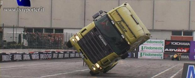 Video: Si tirurile pot merge din cand in cand pe doua roti!