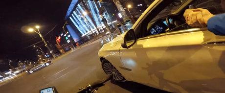VIDEO-SOC in Bucuresti: un sofer de BMW a fost filmat in timp ce arunca gunoiul... la gunoi!