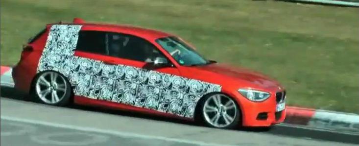 Video Spion: BMW testeaza-n Iadul Verde viitorul M135i