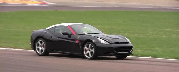 VIDEO SPION: Ferrari California Turbo, surprins pe circuitul de la Fiorano