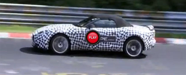 Video Spion: Jaguar F-Type la Nurburgring