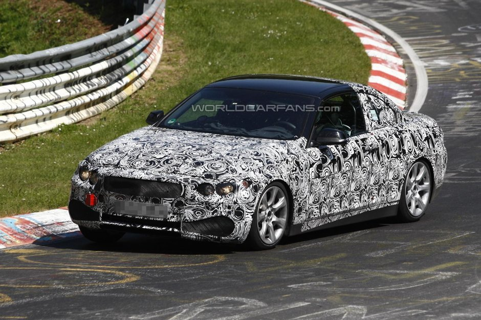 Video Spion: Noul BMW Seria 4 Cabrio revine la Nurburgring