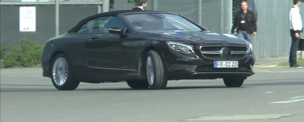 Video Spion: Noul Mercedes S-Class Cabriolet revine in fata camerelor de filmat