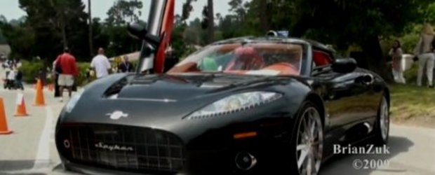 Video: Spyker C8 Aaaileron este... superb
