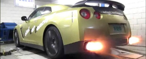 Video: Switzer GT-R P800 urca pe dyno!