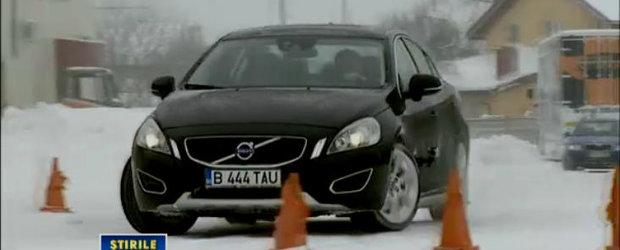 VIDEO: Titi Aur te invata cum sa conduci pe zapada / gheata!