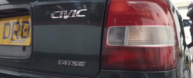 VIDEO: Un Civic cu motor de 506 CP si 1.4 pe capota e ceea ce numim noi sleeperul perfect