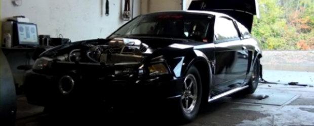 Video: Un Ford Mustang de 1.500 cai putere urca pe dyno!