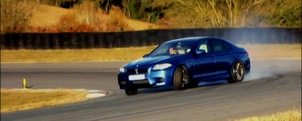 VIDEO: Vicki de la Fifth Gear testeaza noul BMW M5!