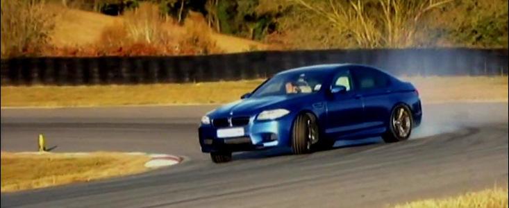 VIDEO: Vicki de la Fifth Gear testeaza noul BMW M5!