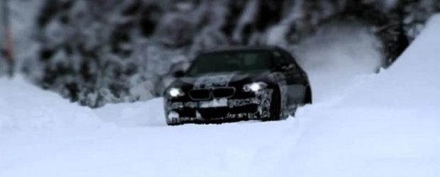 Video: Viitorul BMW M5 isi face aparitia intr-un nou teaser oficial!