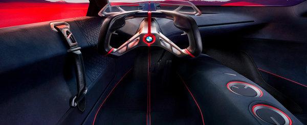 Viitoarele modele BMW M anuntate de un concept hibrid. Are 600 CP si o autonomie de 100 de kilometri