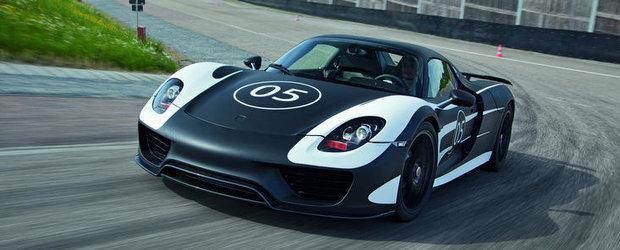 Viitorul 918 Spyder, disponibil si in compania unui pachet Race Track