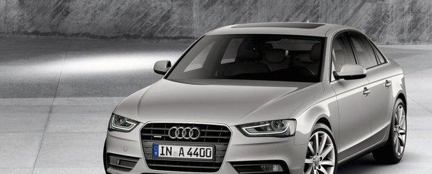 Viitorul Audi A4 va primi sistemul e-quattro