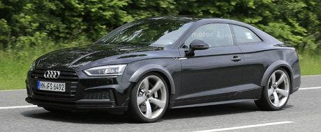 Viitorul Audi RS5 a fost surprins in Germania. Surpriza majora vine de sub capota sportivei nemtesti.