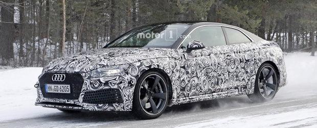 Viitorul Audi RS5 va fi mai puternic decat un Panamera 4S