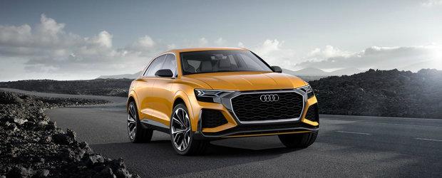 Viitorul Audi SQ8 va avea 476 de cai si o autonomie de 1200 de kilometri