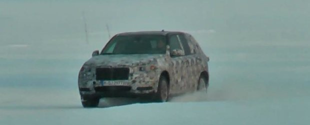 Viitorul BMW X5, surprins in teste pe zapada - VIDEO