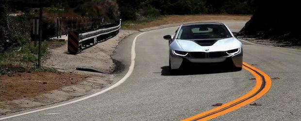 Viitorul e AICI: Test in oras si pe serpentine cu noul BMW i8