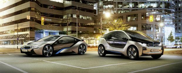 Viitorul este AICI: BMW dezvaluie noile i3 si i8