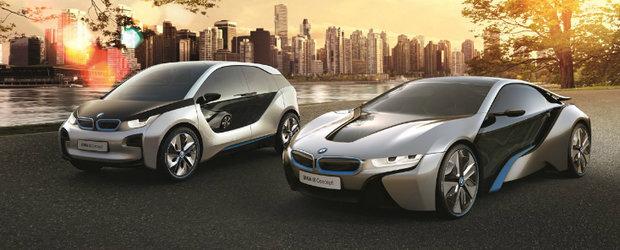 Viitorul este AICI: BMW dezvaluie noile i3 si i8 - UPDATE VIDEO