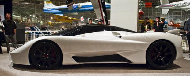 Viitorul este aici: Primele poze reale cu noul supercar SSC!!!