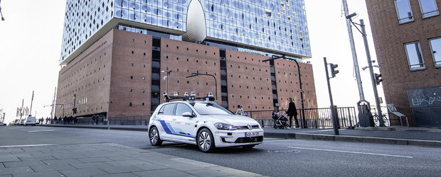 Viitorul este aici. VOLKSWAGEN a inceput primele teste cu masini autonome de nivel 4