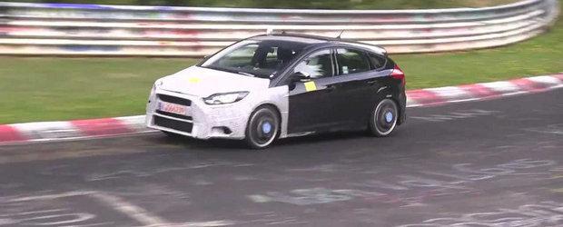 Viitorul Focus RS revine la Nurburgring pentru noi teste