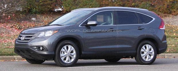 Viitorul Honda CR-V, surprins complet necamuflat