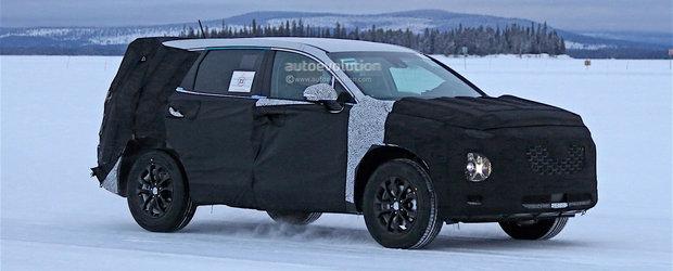 Viitorul Hyundai Santa Fe va veni cu spatiu suficient pentru 8 pasageri