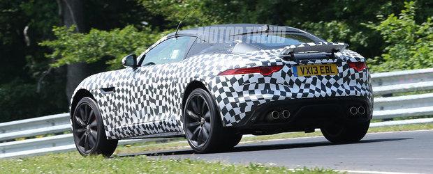 Viitorul Jaguar F-Type Coupe se dezlantuie la Nurburgring