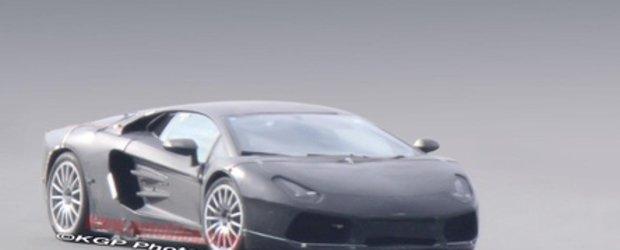 Viitorul Lamborghini Jota, surprins din nou in teste!