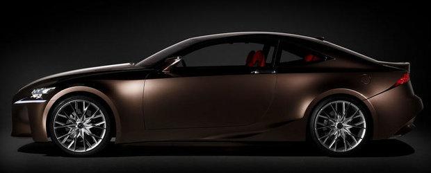 Viitorul Lexus IS-F Coupe ar putea primi pana la urma o motorizare V8