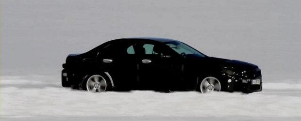Viitorul Mercedes C-Class, surprins intr-un prim video spion