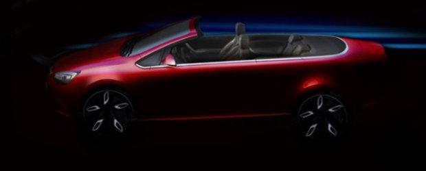 Viitorul Opel Astra Cabrio isi face aparitia in primul teaser oficial