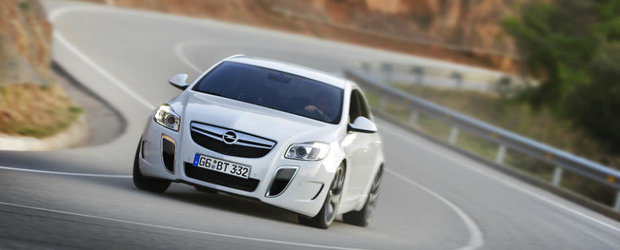 Viitorul Opel Insignia OPC va folosi tractiunea integrala a...Ford-ului Focus RS