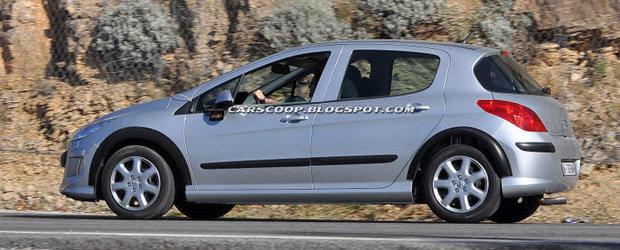 Viitorul Peugeot 308 - Primele fotografii spion