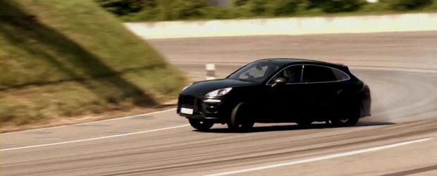 Viitorul Porsche Macan iese din nou la joaca. Pe circuit, de-aceasta data!