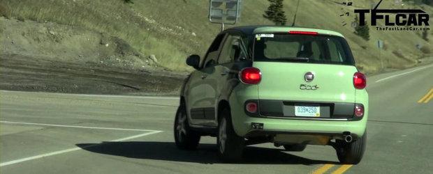 Viitorul SUV de la Fiat, surprins intr-un video spion